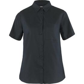 Fjällräven Övik Travel SS Shirt Women, azul